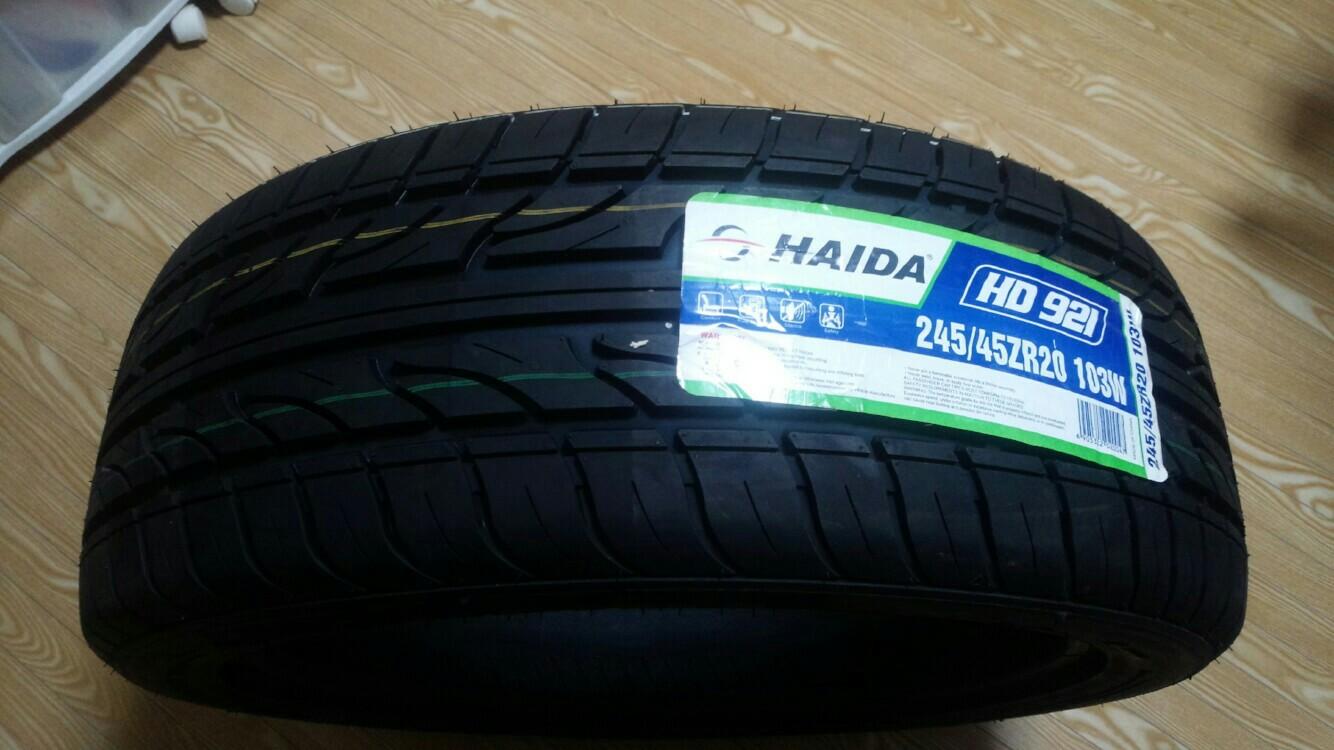 HAIDA ハイダ(HAIDA) HD921 245/45-20 新品 エアバルブ付き