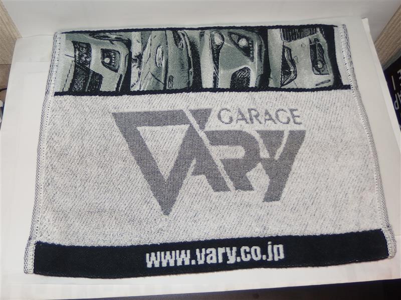 GARAGE VARY 厚手フェイスタオル グレー