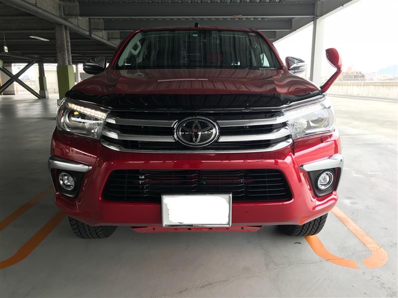ユアーズ ハイラックス ピックアップトラック 新型 専用 LED デイライト ユニットシステム LED