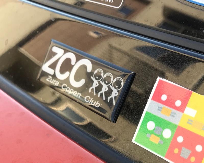 Q's工房 ZCC エンブレム