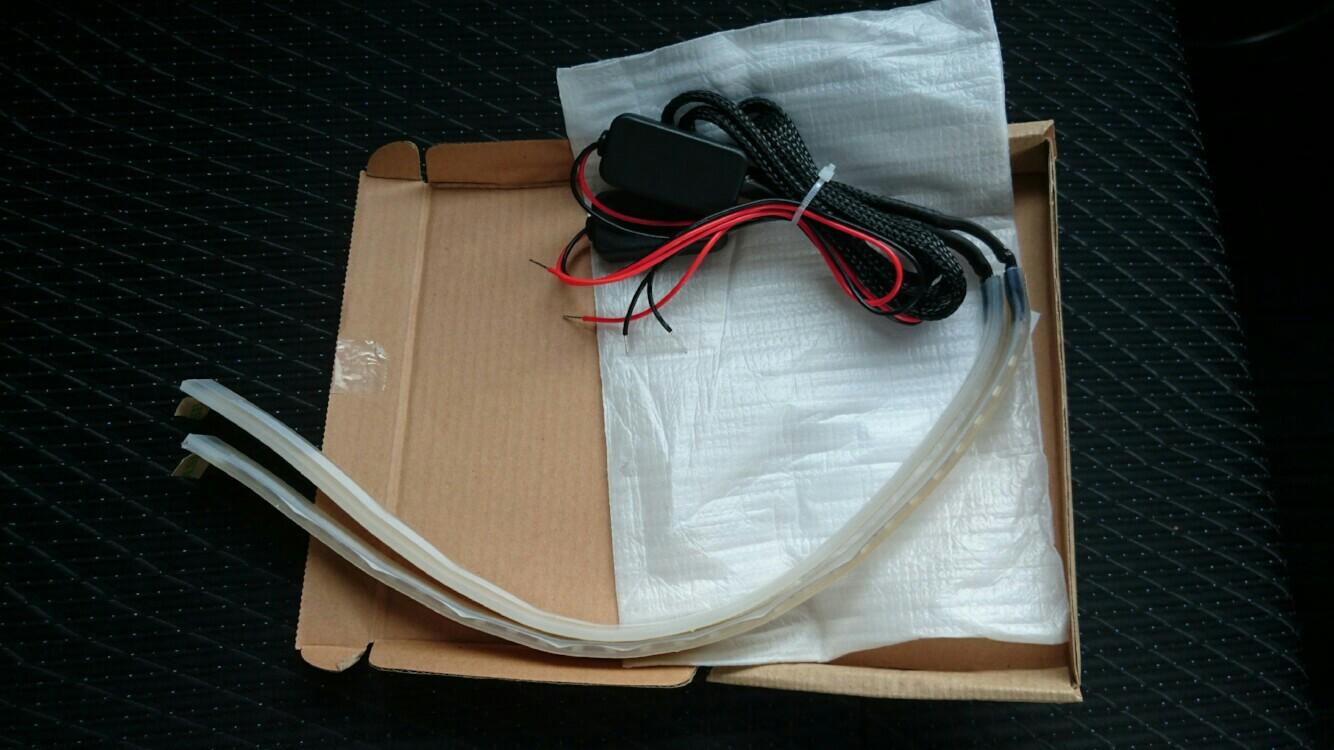 REIZ TRADING 流れるウインカー シリコンシーケンシャル LED テープライト 30cm/30発 側面  流星仕様 12V