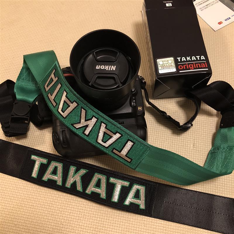 TAKATA RACING Camera Strap