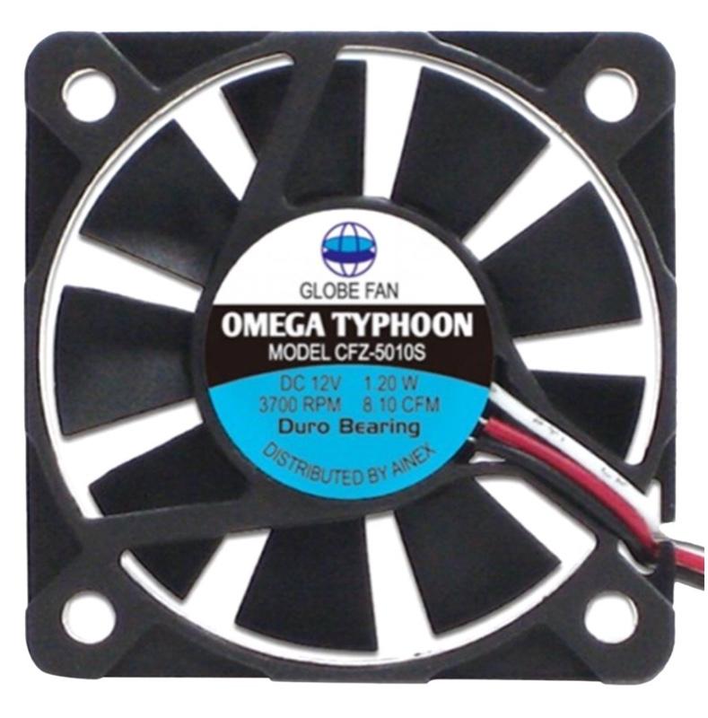 AINEX OMEGA TYPHOON 薄型・超静音タイプ [ 50mm角 ] CFZ-5010SA
