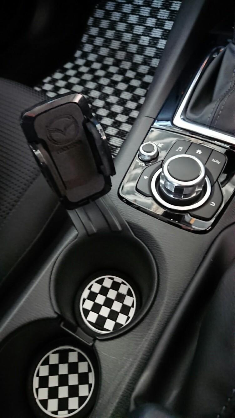 SKYBELL BMW  MINI 用 ドリンクホルダーコースター