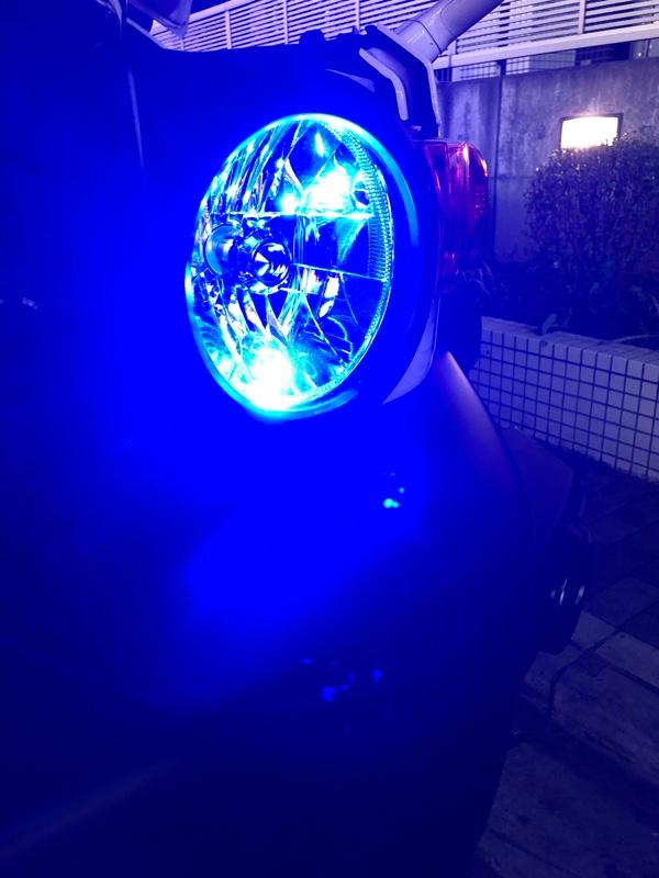 まめ電 まめ電(MAMEDEN) T10 LED ブルー 青 Peta-SMD ルームランプ(ウェッジ シングル)