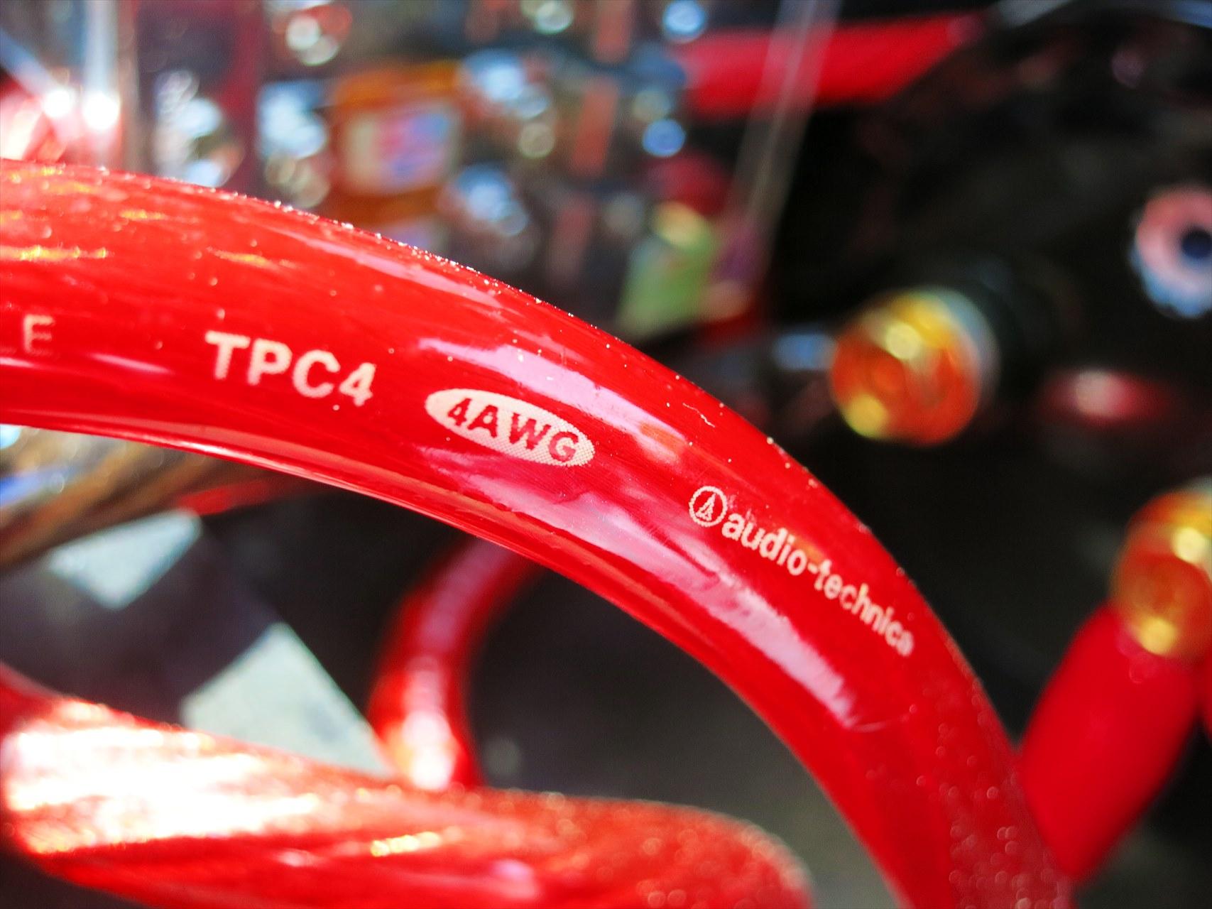 audio-technica TPC4 OFCパワーケーブル