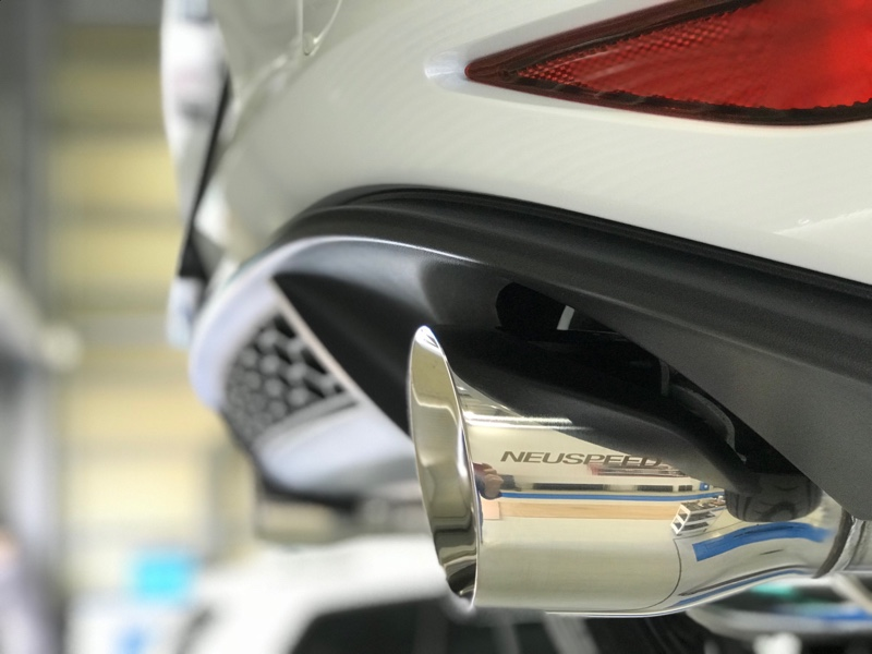 NEUSPEED CAT-BACK EXHAUST SYSTEM