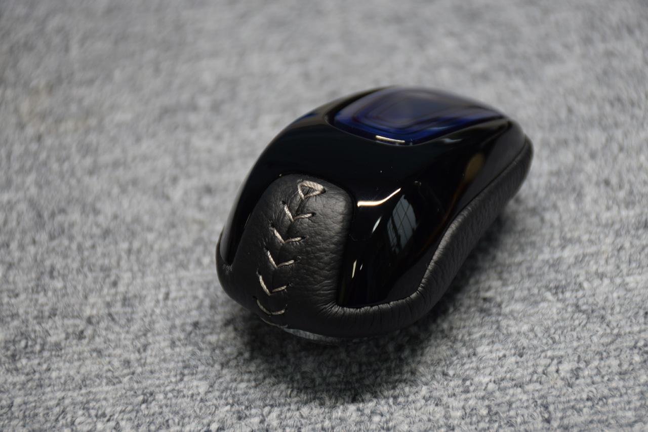 Leather Custom FIRST シャトルハイブリッドH/V用セレクトノブ本革巻き加工
