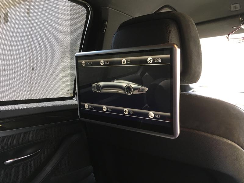不明 DVDプレーヤー内蔵・薄型軽量ワンタッチ式ヘッドレストモニター