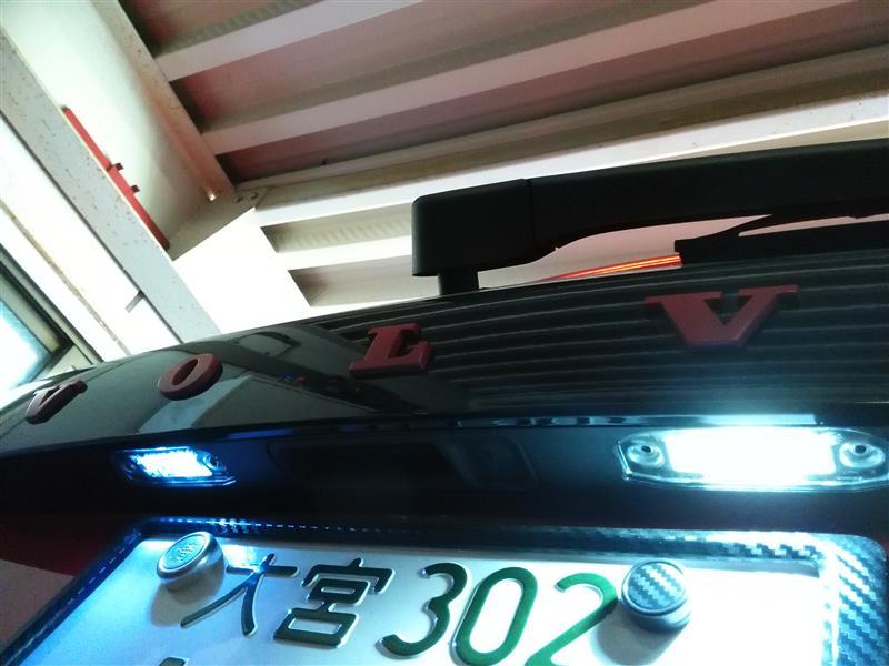 不明 (ナンバー灯)T10×37LED