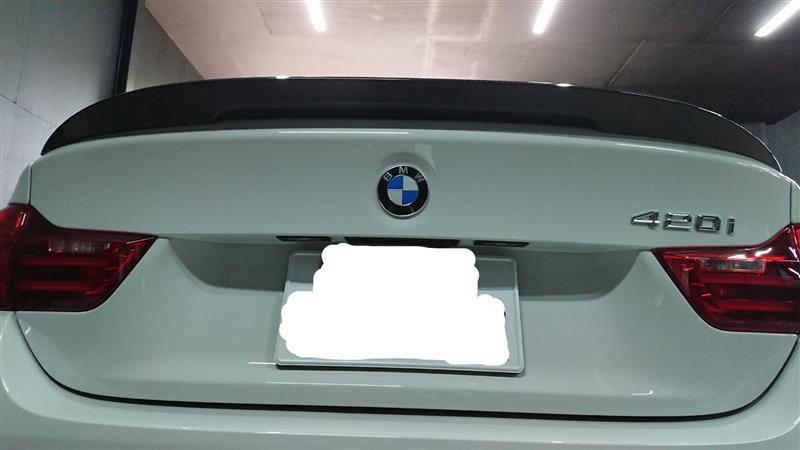 BMW(純正) BMW Performance カーボンリアトランクスポイラー