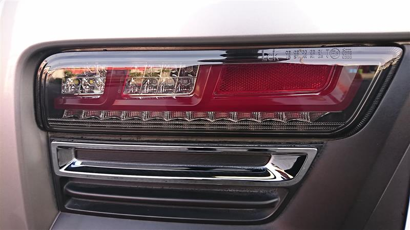 LOVELARK Lck619 LEDテールランプ NJC ver. レッド&スモークレンズ  REDバー