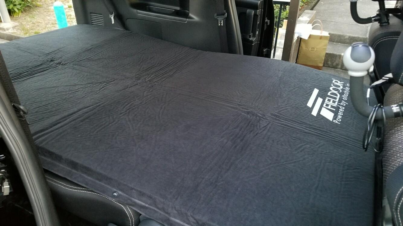 FEELDOOR 車中泊マット Lサイズ 厚さ10cm 幅120cm 長さ195cm