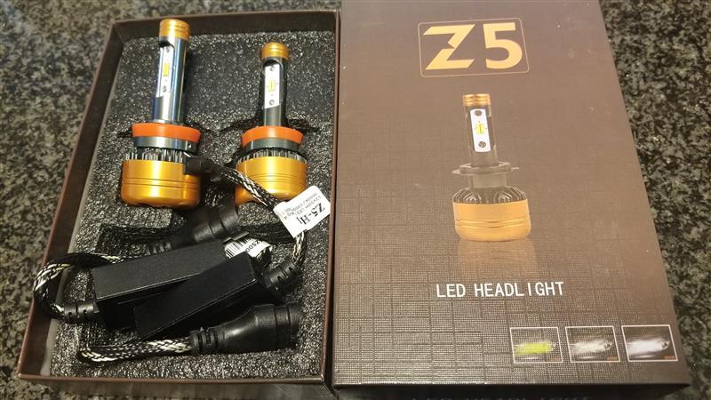 不明 Z5 TriColor LED Headlight H11