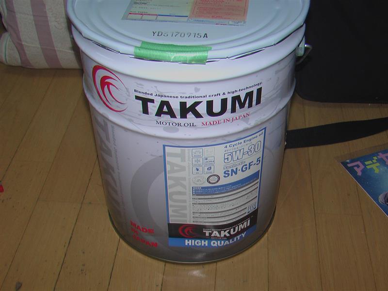 TAKUMIモーターオイル/AKTジャパン HIGH QUALITY 5W-30