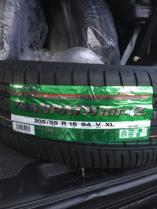 TOYO TIRES TRANPATH mpZ 205/55R16