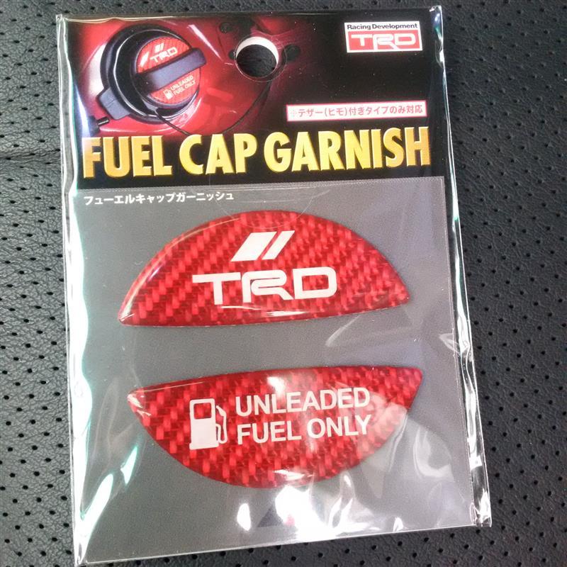 TRD / トヨタテクノクラフト フューエルキャップガーニッシュ