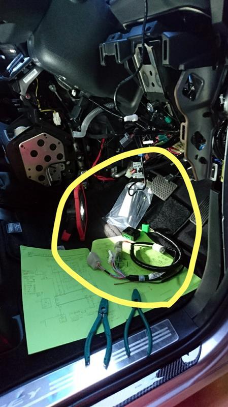 Modulo / Honda Access おもてなしフォグライトシステム