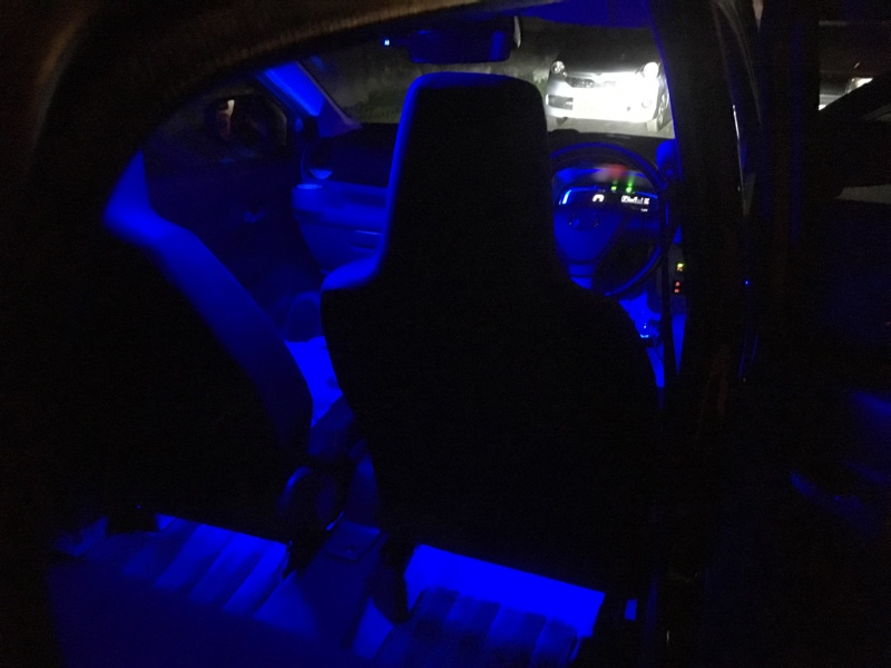 エーモン LED フットランプ / フットライト キット
