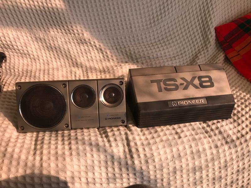 PIONEER / carrozzeria TS-X8
