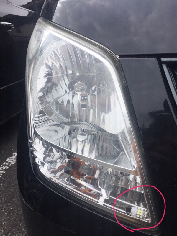 不明 LEDポジションランプT10