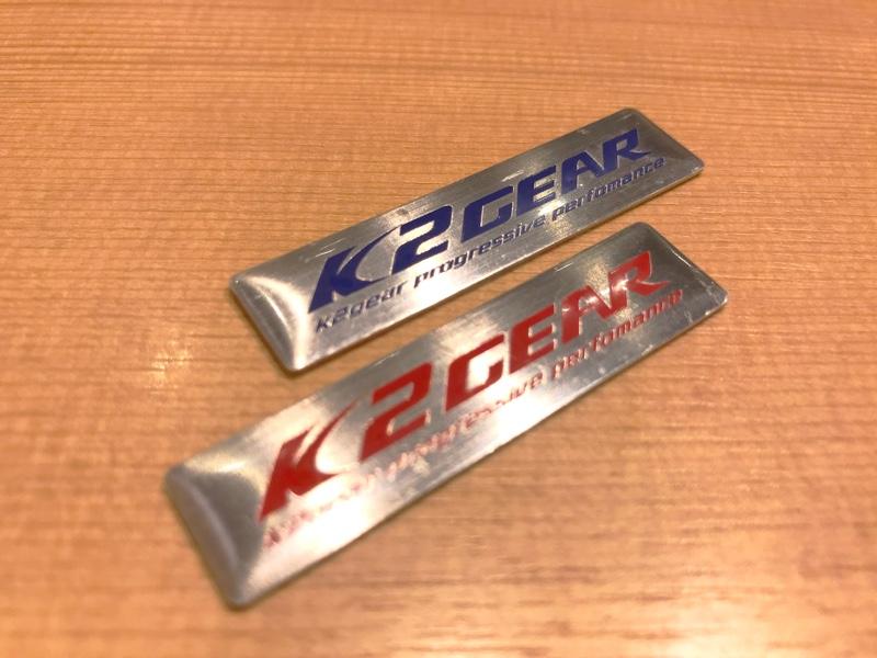 K2 GEAR オリジナル チビエンブレム