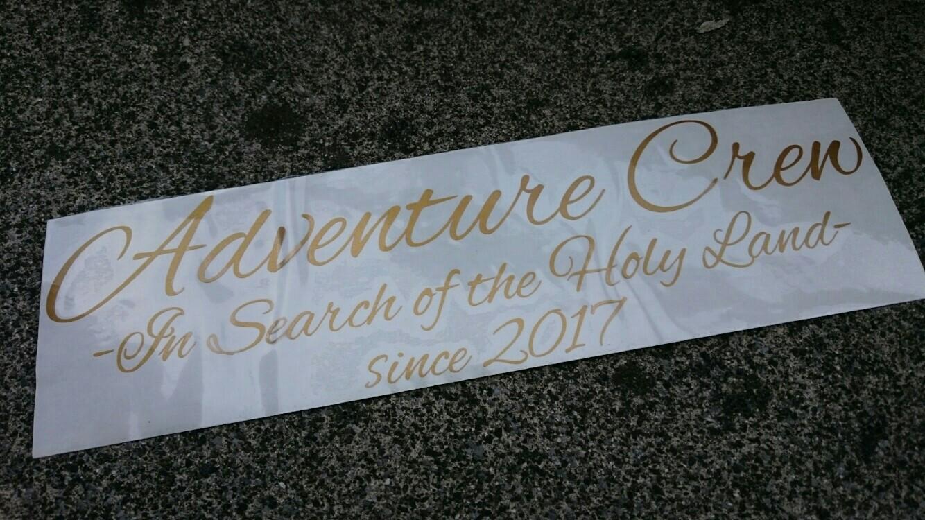 Adventure Crew オリジナルステッカー