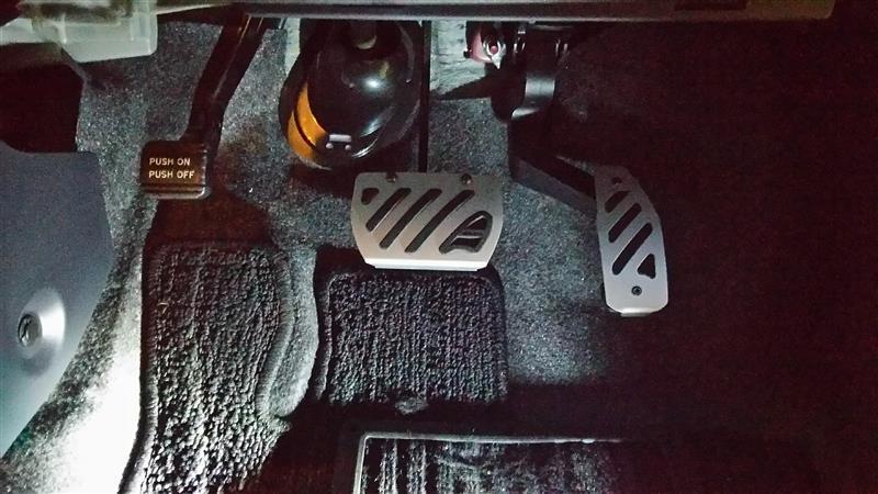 CAR MATE / カーメイト RAZO K-CAR ペダル スズキ B / RP136