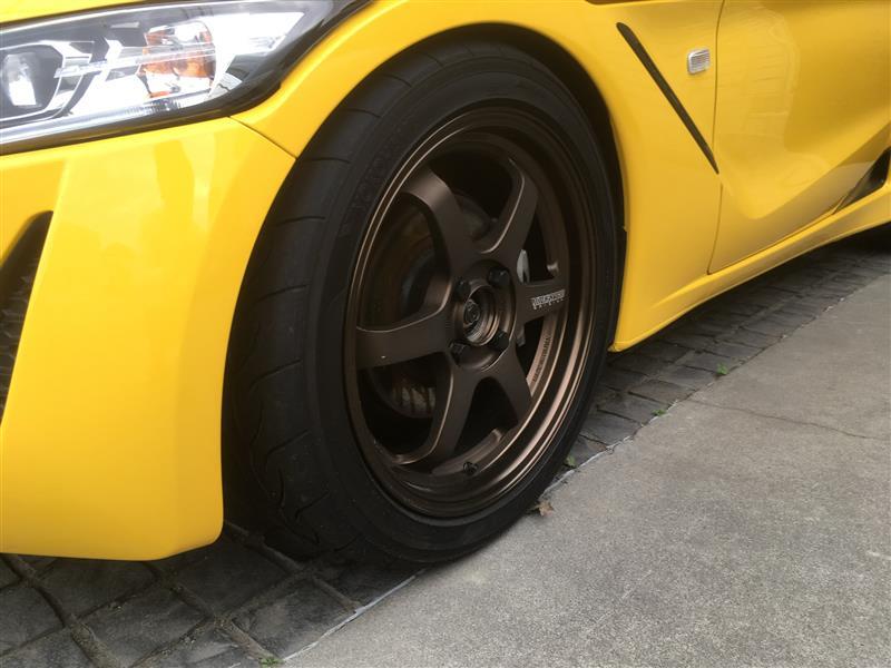 RAYS VOLK RACING VOLK RACING TE37 KCR BZ Edition 16インチ 6.5J
