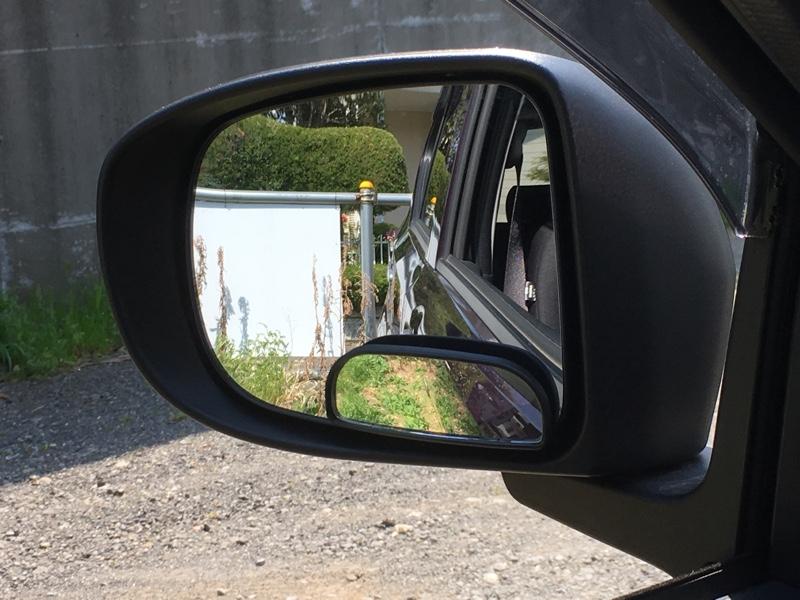 CAR MATE / カーメイト  サブミラー 長半円形