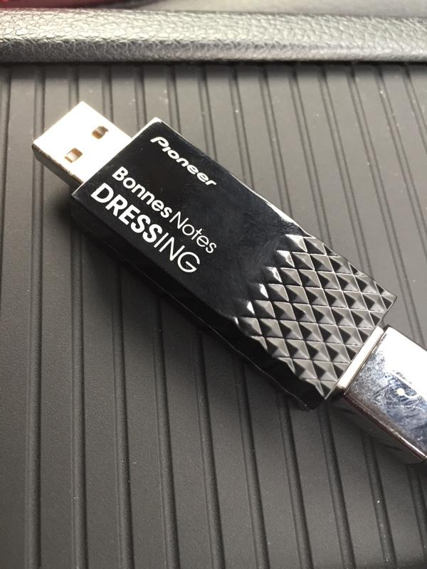 パイオニア USBクリーナーBonnes Notes DRESSING APS-DR000T