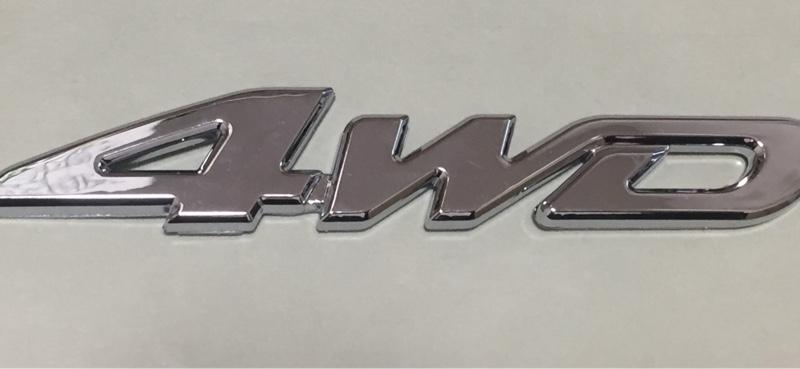 セルフトレーディング 4WD エンブレム