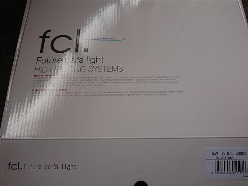 fcl 55W  HIDキット H4 6000K