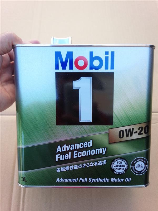 Mobil Mobil 1 SERIES Mobil 1 Advanced Fuel Economy 0W-20