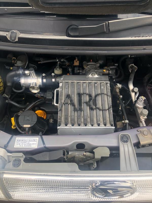 ARC-brazing インタークーラー