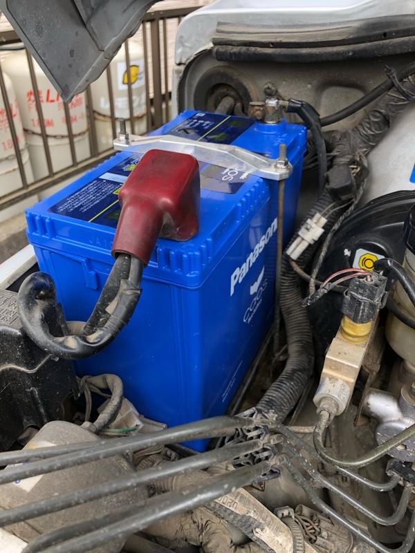 Panasonic Blue Battery caos N-80B24R/C6