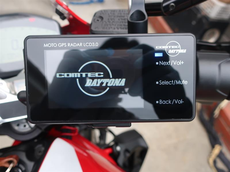 DAYTONA(バイク) MOTO GPS RADAR LCD 3.0