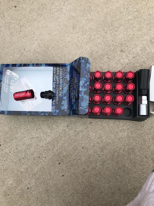 KYO-EI / 協永産業 LEGGDURA RACING Shell Type Lock & Nut Set