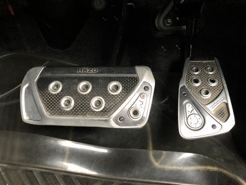 CAR MATE / カーメイト RAZO GT SPEC PEDAL SET AT-S / RP101