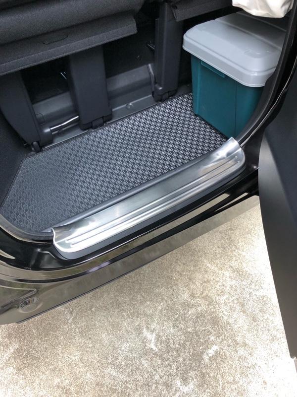 SAMURAI PRODUCE スカッフプレート 6P & ラゲッジ スカッフプレート 1P 内装保護パーツ 2点セット