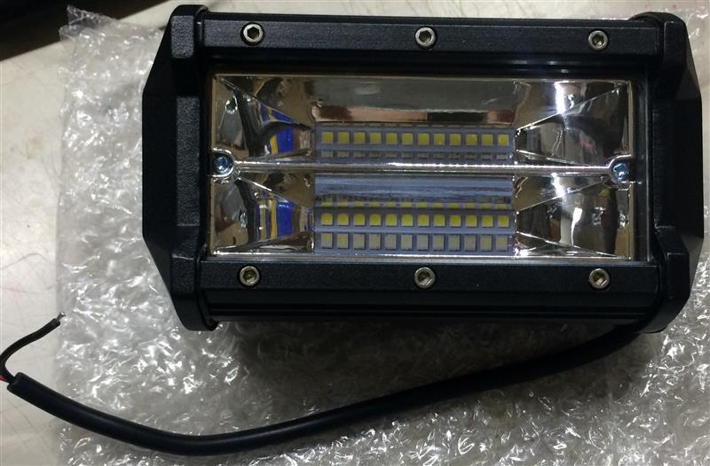 輸入品 5インチ 72W LEDライト  10個
