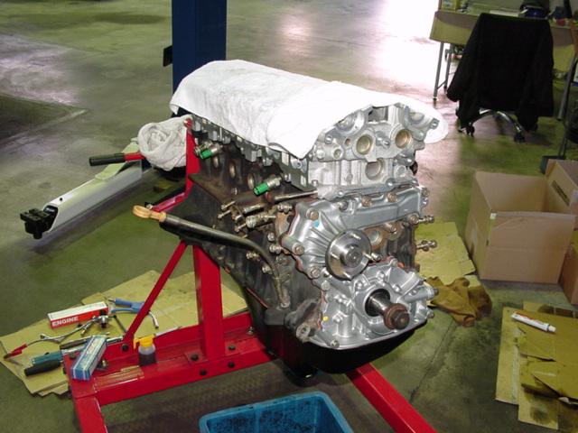 日産(純正) ECR33 GTS25t エンジン