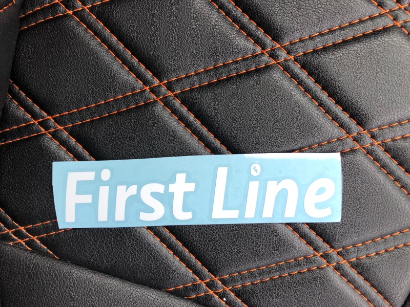 FIRST LINE チームステッカー