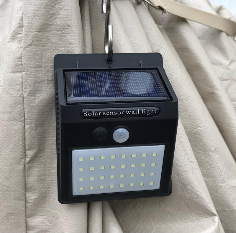 不明 ソーラーのセンサーのライト