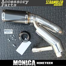 スクランブラー シックスティ2MONICA NINETEEN マフラーの全体画像