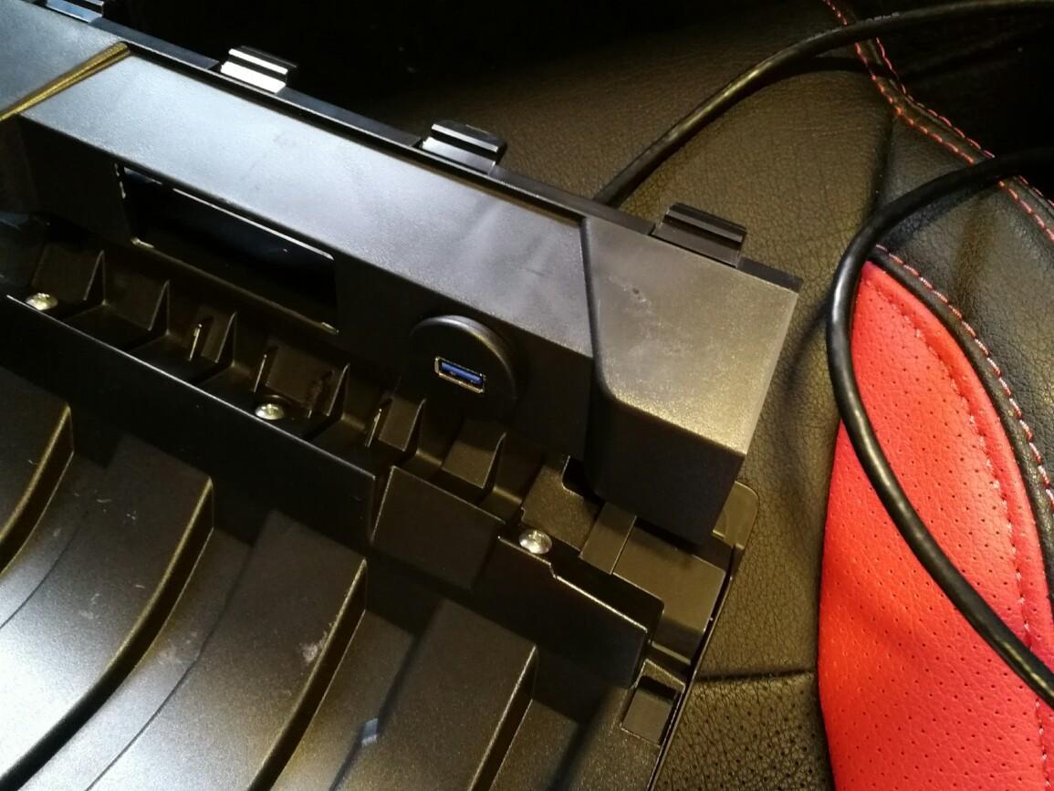 ICESPRING USB 3.0 オスtoUSB3.0 メス AUX 埋込み式搭載用 延長ケーブル 車.トラックかーボート、バイク計器盤に適用 (90-100cm)