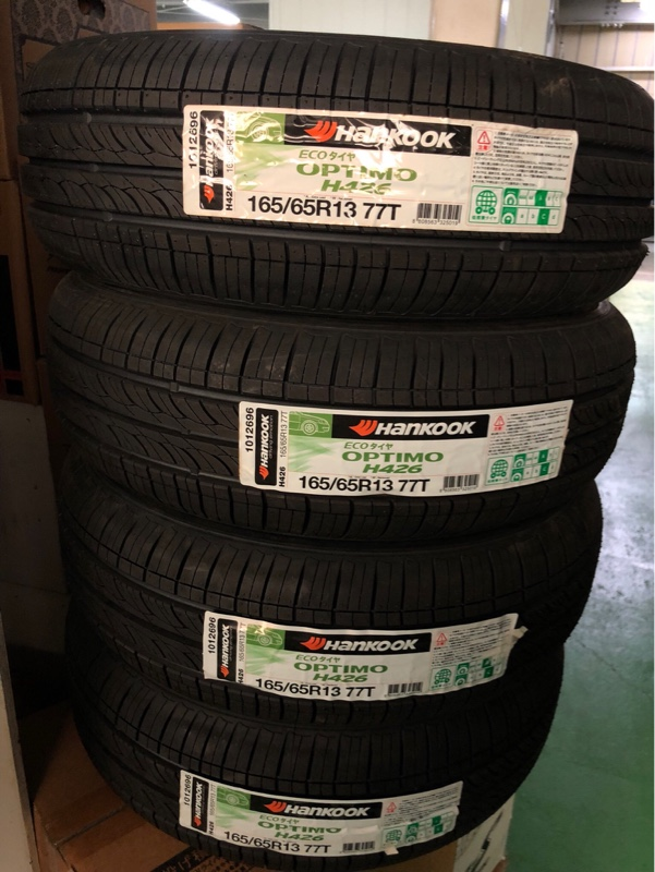 HANKOOK OPTIMO H426 165/65 R13 77T