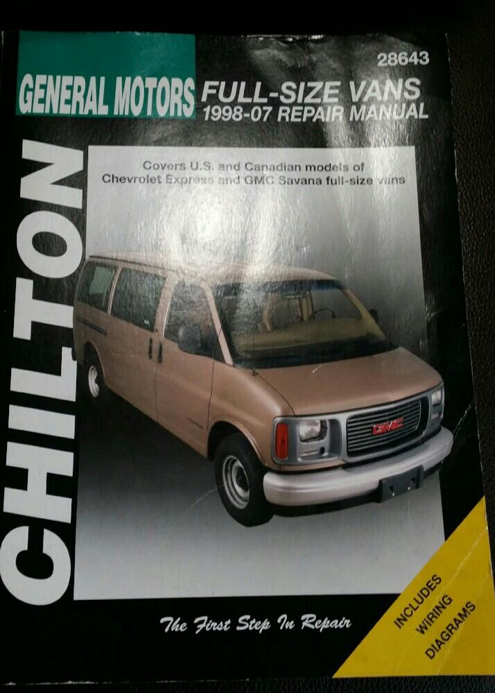 CHILTON Repair Manual