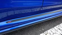 プロトタイプ S207風サイドステップ部分サイドシェルモールカーボンステッカー