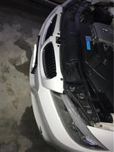 3シリーズ セダンBMW(純正) E90 LCI化 第5弾 フロントバンパースポイラーの全体画像
